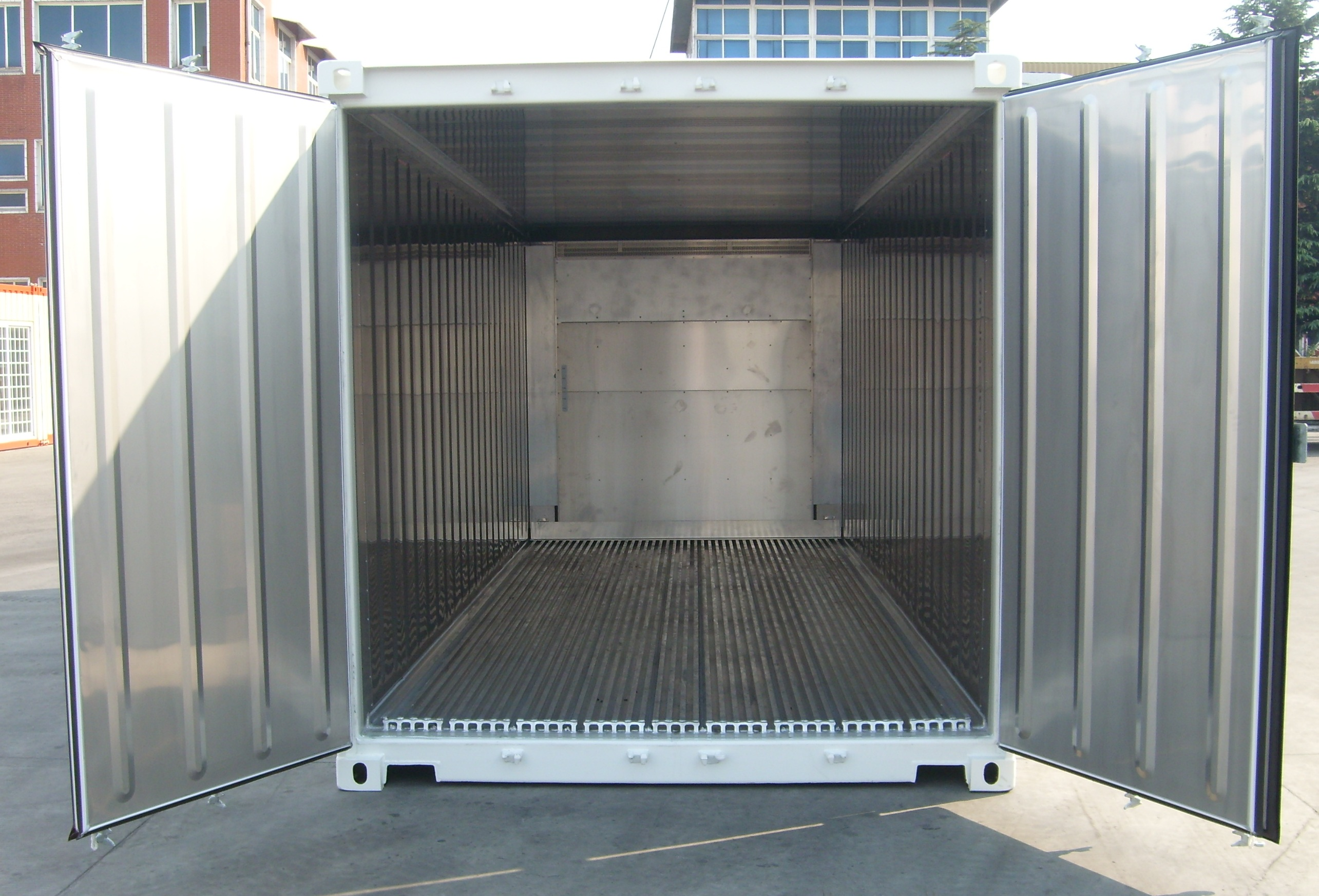 Container reefer refrigerado ampla containers for Un container