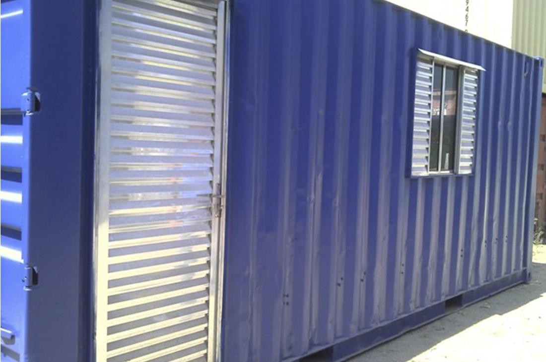 container tipo escritorio de 06 metros foto 1