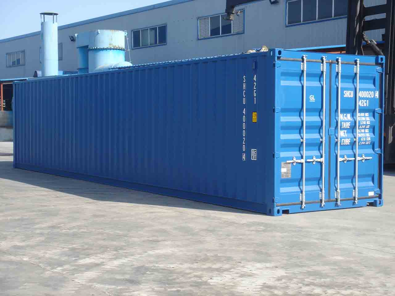 Ampla Containers DRY basico